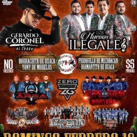 Image for Gran Jaripeo Baile Con Gerardo Coronel,Los Nuevos ILegales y Mas En Llano,CA