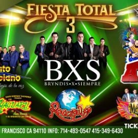 Image for Fiesta Total 3 Con Rayito Colombiano,BXS,Los Askis y Mas En San Francisco,CA CANCELED
