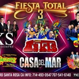 Image for Fiesta Total 3 Con Bryndis x Siempre,Los Askis,Yaguaru y Mas En San Rosa,CA CANCELED