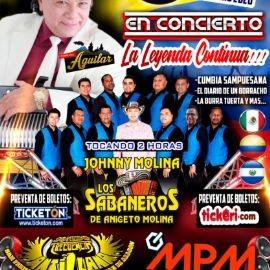 Image for Jhonny Molina y Los Sabaneros De Aniceto Molina En Concierto En Reseda,CA