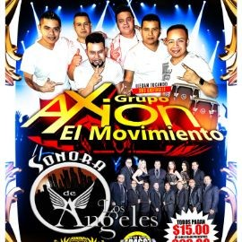 Image for Grupo Axion El Movimiento,Sonora Los Angeles y Mas En Commerce,CA canceled