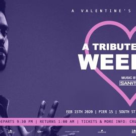 Image for THE WEEKND TRIBUTE Yacht Cruise: Valentine's Day Boat Party NYC