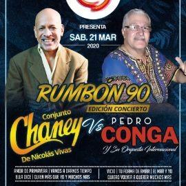Image for SUPER DUELO MUSICAL CHANEY VS PEDRO CONGA POSTPONED