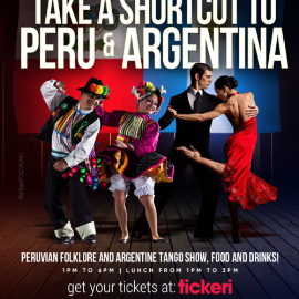 Image for SHORTCUT TO PERU AND ARGENTINA