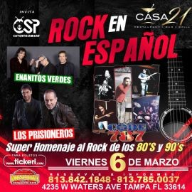 Image for Rock En Español Tributo En Tampa ,FL