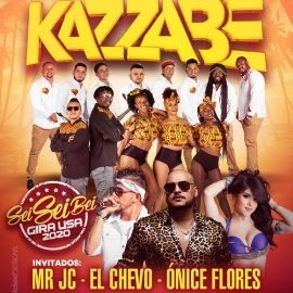 Image for Kazzabe, Chevo, Mr Jc, Onice - Los Angeles, CA  (Sei Sei Bei, Gira USA)