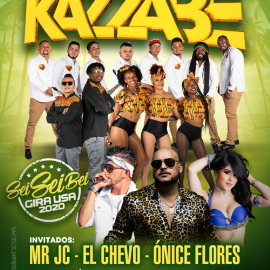 Image for Kazzabe, Chevo, Mr Jc, Onice - La Vegas, NV (Sei Sei Bei, Gira USA)