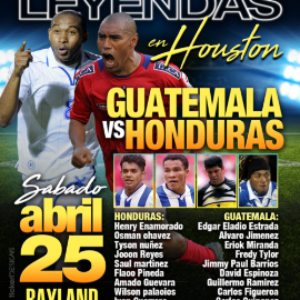 Image for Juego De Leyendas Guatemala VS Honduras En Houston, TX CANCELED