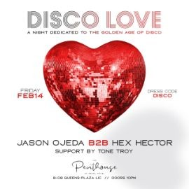 Image for Disco Ball 2020 Valentines Day Edition At Penthouse 808