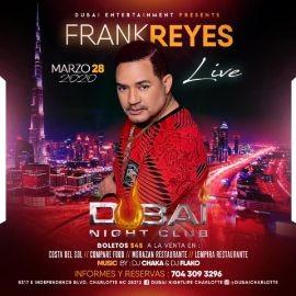 """Image for Frank Reyes """"En Concierto"""" en Dubai Nightclub"""