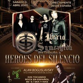 Image for HEROES DEL SILENCIO - De España/Iberia Sumergida-Tributo en vivo!!