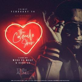 Image for Latin Fridays Valentines Day Edition DJ Camilo Live At Tenth Avenue