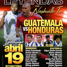 Image for Juego De Leyendas Guatemala VS Honduras  En Antioch, CANCELED