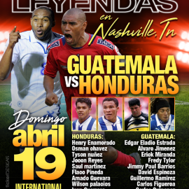 Image for Juego De Leyendas Guatemala VS Honduras  En Antioch, TN