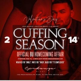 Image for Valentines Day Cuffing Season Official BU Homecoming Affair At Exchange Miami