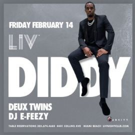 Image for Presidents Day Weekend Diddy Live At LIV