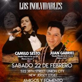 Image for Tributo Camilo Sesto y Juan Gabriel En Union City,NJ