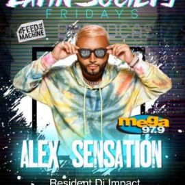 Image for Alex Sensation live at the New Society NightClub in Jersey