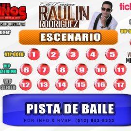 Image for Raulin Rodriguez Tu Casique En Concierto Austin Tx