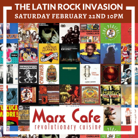 Image for The Latin Rock Invasion Febrero 2020