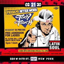 Image for Latin Soul AfterWork Fridays