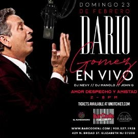 Image for Dario Gomez En Vivo @BarCode, NJ