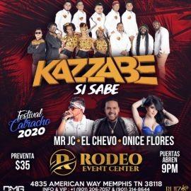 Image for Kazzabe,MR JC,El Chevo y Onice Flores En Memphis,TN