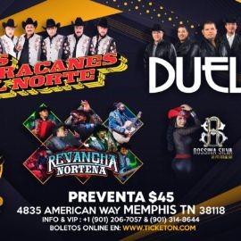 Image for Los Huracanes Del Norte,Duelo y Revancha Norteña En Memphis,TN