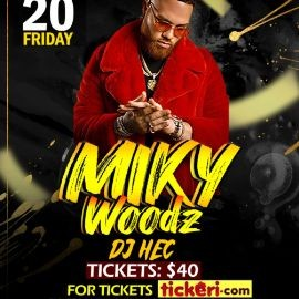 Image for Miky Woods En Concierto En Waterbury,CT NEW DATE CONFIRMED