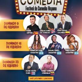 Image for Divina Comedia, Festival de comedia hispana - Miami Febrero 23