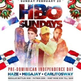 Image for Grand Opening Of HBO Sundays Pre Domincian Independence Day At Boca Lounge