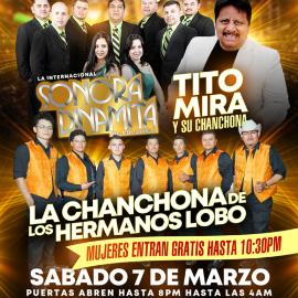 Image for La Sonora, Tito Mira & La Chanchona de Los Hmnos Lobo