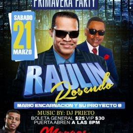 Image for Raulin Rosendo en Vivo! CANCELED