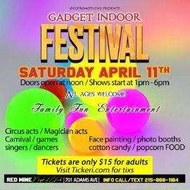 Image for GADGET INDOOR FESTIVAL