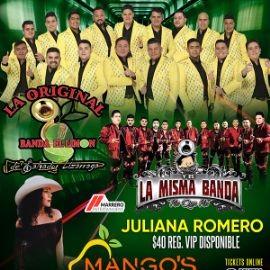 Image for La Original Banda El Limon, La Misma Banda y Juliana Romero en Vivo!