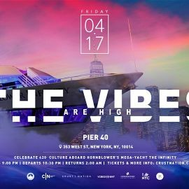 Image for THE VIBES ARE HIGH 4/20 Celebration Yacht Cruise NYC Boat Party Friday