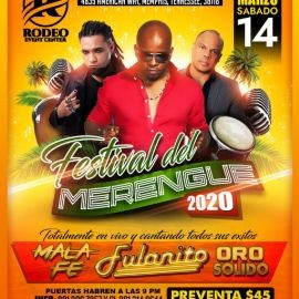 Image for Festival De Merengue 2020 Con Mala Fe,Fulanito y Oro Solido En Memphis,TN  CANCELED