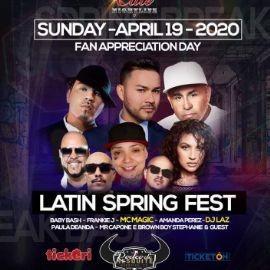 Image for Latin Spring Fest with Baby Bash, Frankie J, Mc Magic, Amanda Perez, Dj Laz, Paula Deanda and more
