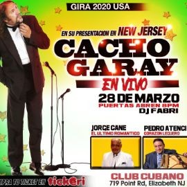 Image for Cacho Garay en Vivo CANCELLED