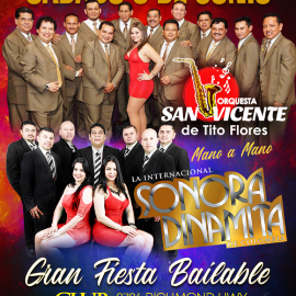Image for Orquesta San Vicente y La Sonora Dinamita en Vivo!