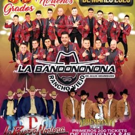 Image for La Bandononona, La Reserva Norteña y Arrendado Norte en Vivo! CANCELED