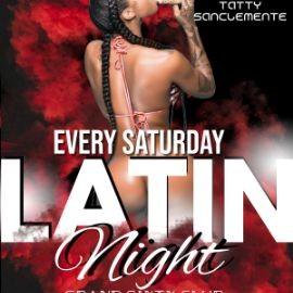 Image for Latin Saturday's Night