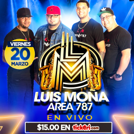 Image for Luis Moña Y Area 787 @ La Cabana Lounge Reading PA CANCELED