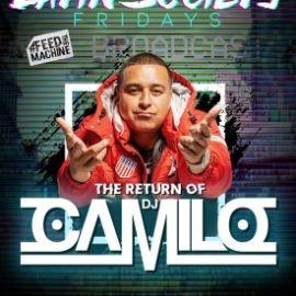 Image for Latin Society Fridays DJ Camilo Live At Society