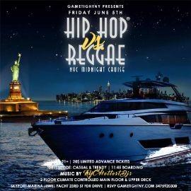 Image for NYC Hip Hop vs. Reggae Midnight Yacht Party at Skyport Marina Jewel 2020