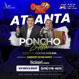 Image for PONCHO ZULETA & COCHA MOLINA EN CONCIERTO EN DULUTH,GA