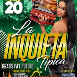 Image for La Inquieta Tipica en Vivo! CANCELED