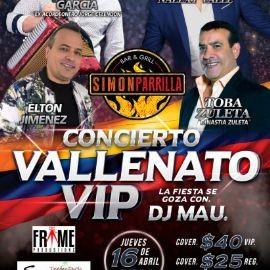Image for Concierto Vallenato Vip Con Tavo Garcia,Nalexy Valle y Mas En Orlando,FL
