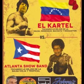 Image for Mano a Mano Musical Con El Kartel Vs Atlanta Show Band En Lawrenceville,GA