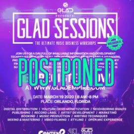 Image for GLAD SESSIONS- THE ULTIMATE MUSIC BUSINESS WORKSHOPS CANCELED